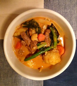 paleo quick thai coconut curry