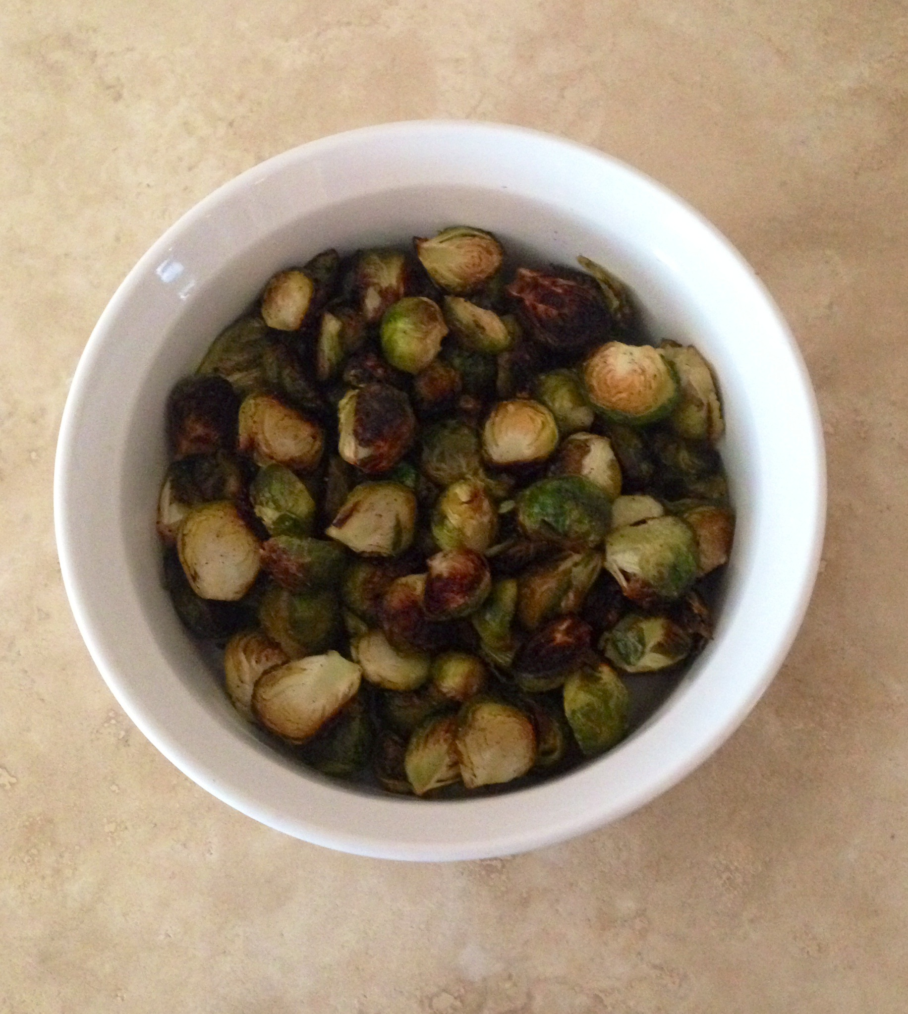 Paleo roasted brussels sprouts