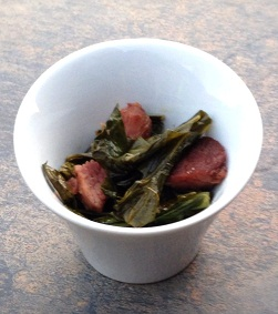 paleo collard greens and ham recipe